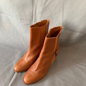 Cole Haan  Tan Leather Boots